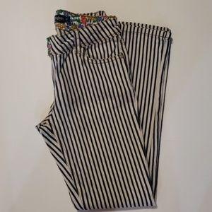 MINI BODEN Striped Jean's size 11Y